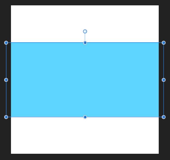 横長の長方形