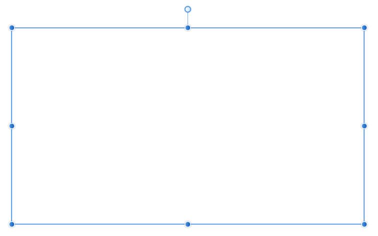 長方形を描きます