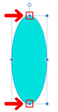 横線上にあるノード(二重の丸)