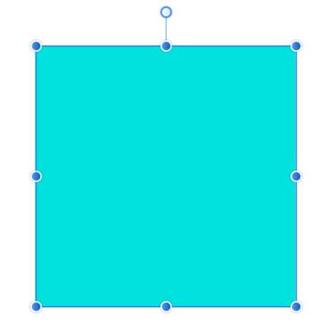 縦線を基準とした正方形