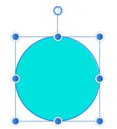 横幅を基準とした円