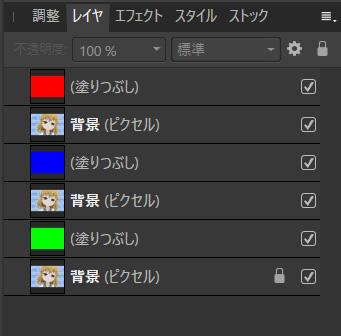 レイヤー構成2