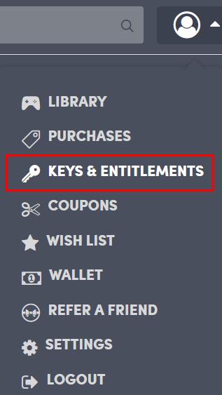 「KEYS&ENTITLEMENTS」