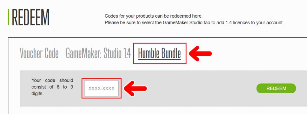 「Humble Bundle」を選択