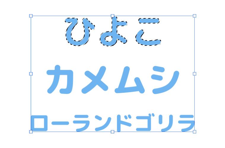 文字(テキスト)の整列